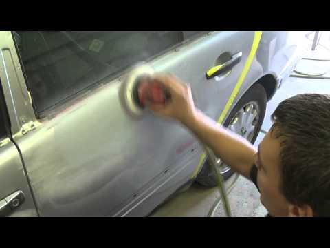 Подготовка к покраске автомобиля видео смотреть