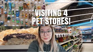 Visiting 4 Different Pet Stores In One Day! | Pet Store Vlog by Emma Lynne Sampson