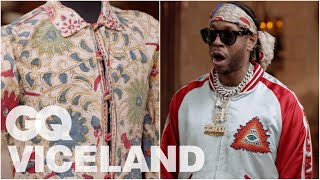 2 Chainz Checks Out a $106K Jimi Hendrix Jacket | Most Expensivest | VICELAND & GQ