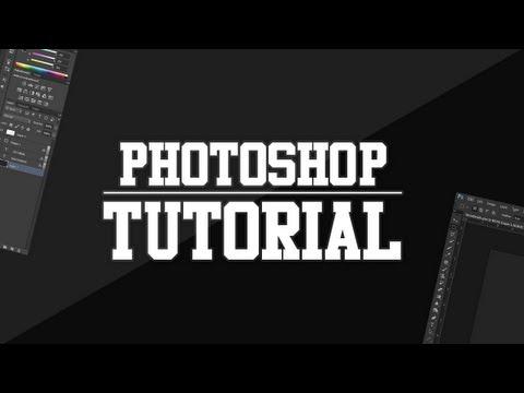 Photoshop Tutorial - Indent Effect