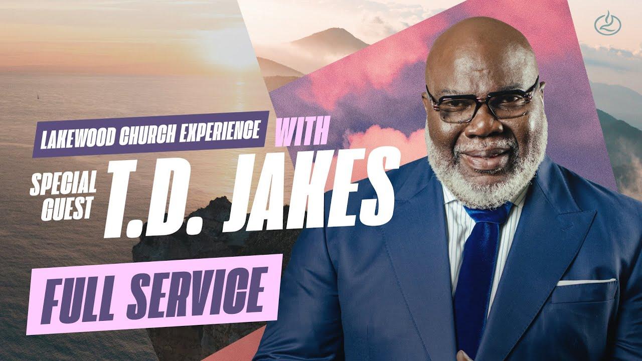 Joel Osteen & Bishop T.D. Jakes Sunday Live 17th October 2021
