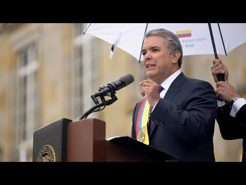 Κολομβία: Ο Ιβάν Ντούκε ορκίστηκε κι έγινε ο 60ός πρόεδρος της χώρας…