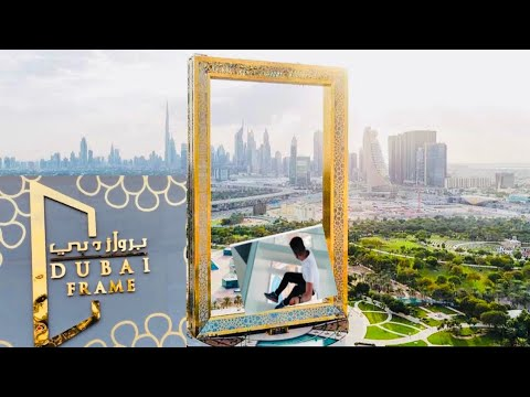 WORLD'S LARGEST PICTURE FRAME| Scary Skywalk|Dubai frame after lockdown