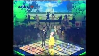 Fatin feat Afgan -  Katakan Tidak  di HUT MNC TV k
