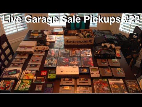 Live Garage Sale Pickups #22 - Wii U at a garage sale?