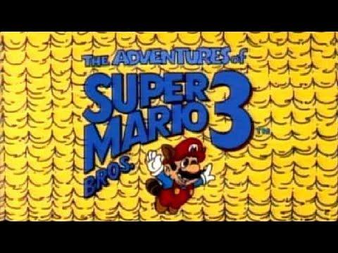 Super Mario Bros. 3 -piirretyt