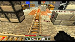Minecraft Tutorial - How to make Rail Switches