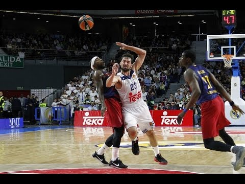 Turkish Airlines EuroLeague Round 27 MVP: Sergio Llull, Real Madrid
