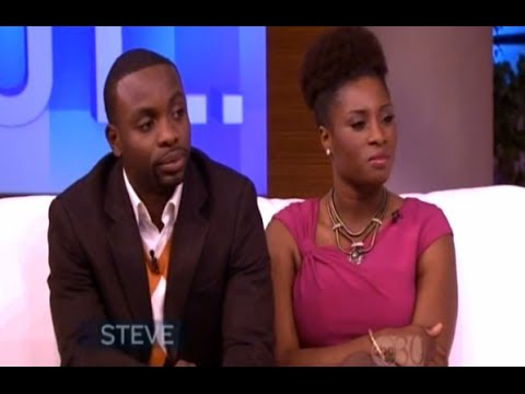 Woman Tells Steve Harvey Her Husband Almost Left Her After Seeing Her NAPPY Natural Hair.