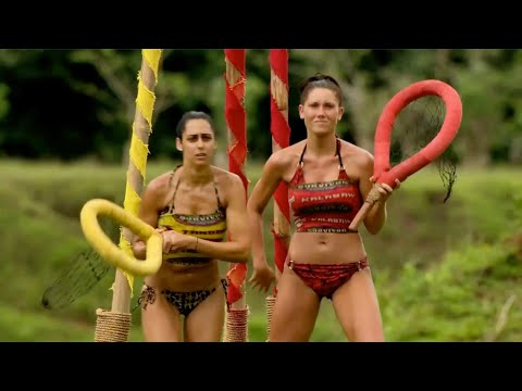 """Philiping Out (1 of 2), Immunity Challenge, S25E06 (7 of 11) """"Down and Dirty""""  Survivor: Philippines"""