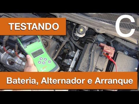Dr CARRO Testando a Bateria e Sistema de Carga com Equipamento Pró