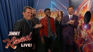 Video Infinity War Cast Surprises Avengers Fans MP3, 3GP, MP4, WEBM, AVI, FLV Februari 2019