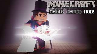 Minecraft: Magic Cards Mod (Exploding Cards, Magic Tricks and More!) Mod Showcase