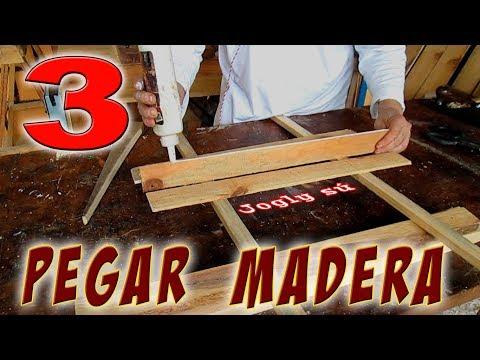 Videos caseros - Tres formas de pegar madera de forma casera