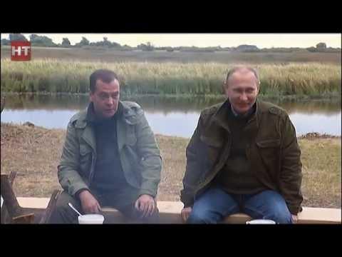 Были подведены итоги визита Владимира Путина и Дмитрия Медведева в Новгородскую область