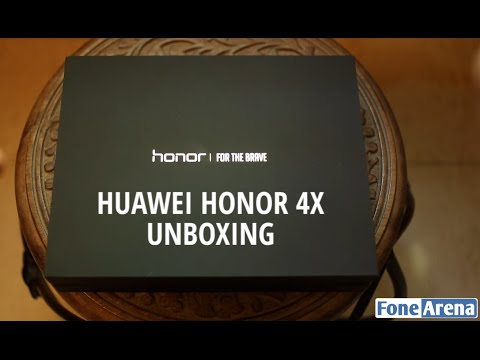 Huawei Honor 4X Unboxing