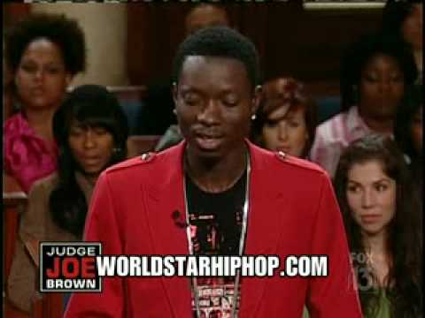 Video WTF Comedian Michael Blackston On Judge Joe Brown!