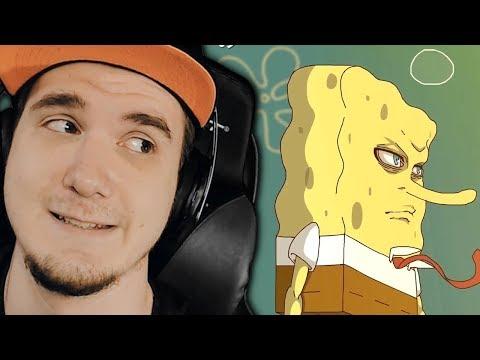АНИМЕ СПАНЧ БОБ! The SpongeBob SquarePants Anime - OP 1 (Original Animation) | РЕАКЦИЯ (видео)