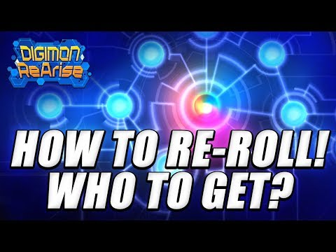 Digimon ReArise | Who To Re-Roll For On Global!