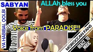 Video Arab React To | YA HABIBAL QOLBI versi SABYAN || MOROCCAN REACT MP3, 3GP, MP4, WEBM, AVI, FLV September 2018