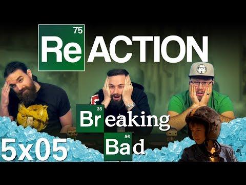 "Breaking Bad 5x5 REACTION!! ""Dead Freight"""