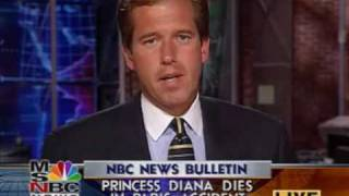 NBC News Bulletin - Princess Diana's Death