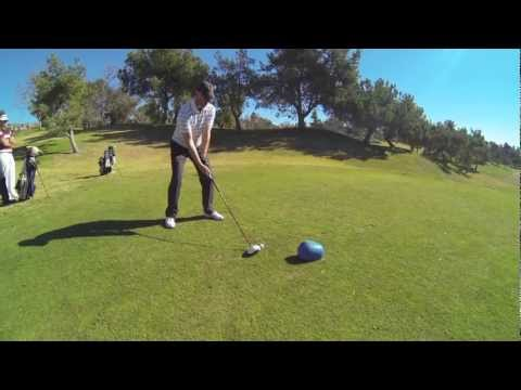 Golf Pro Aaron Fuller playing in the Farmer's Insurance Open Qualifier