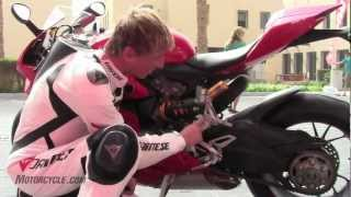 8. 2012 Ducati 1199 Panigale Review - A game-changing sportbike from Italy