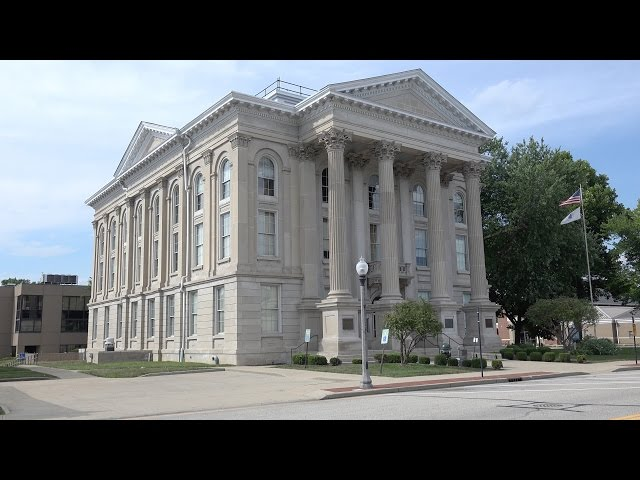 Dearborn  County,  Indiana  Courthouse,  Lawrenceburg,  Indiana