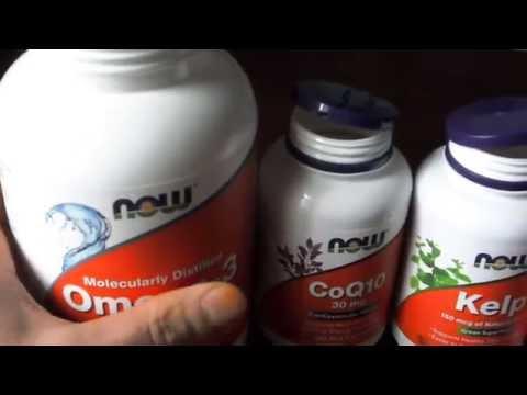 iHerb ,БАДЫ Now Foods , краткий видео обзор