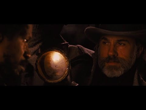 Christoph Waltz entry scene in Django unchained