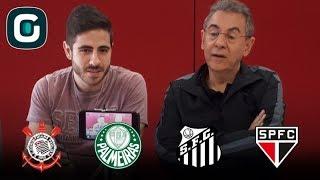 Flavio Prado e Guilherme Camarda analisam a 14ª rodada do Brasileirão e dão seus palpites: - Corinthians x Atlético-PR - Palmeiras x Vitória - Chapecoense x ...