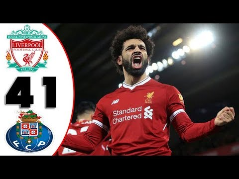 Liverpool Vs Fc Porto 4-1 English Commentary Extended Highlight & Goals HD