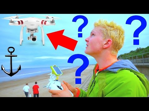 LOST MY NEW DRONE OVER OPEN SEA !!! UK BEACH ADVENTURES 2016!