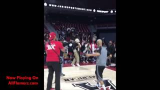 Gillie Da Kid Has A Dance Battle With The King Bobby Brown!