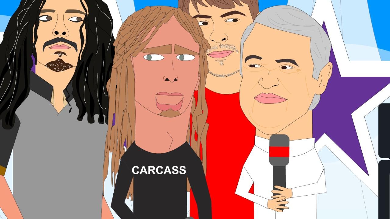 4 Extraños en D.C - Korn en el Show de las Estrellas