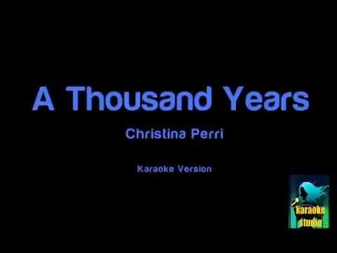 Christina Perri - A Thousand Years ( Karaoke Version )