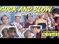 SUCK AND BLOW CHALLENGE with Miss Q and A from SHOWTIME (Brenda Mage, Medyo Maldito, Snake Princess)