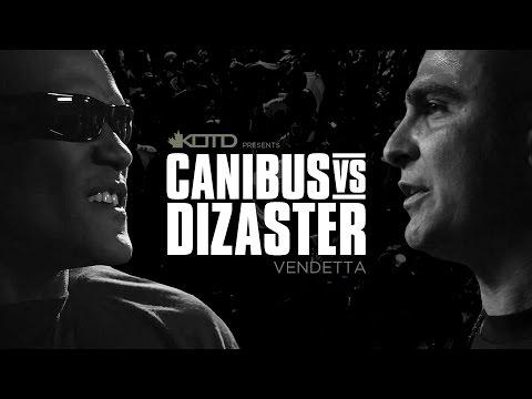 KOTD, Rap Battle - Canibus vs Dizaster (2012)