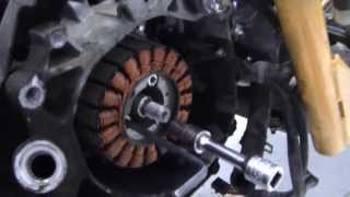 9. )-  PROJECT Honda  RUCKUS - HOW TO= Engine COMPLETE REBUILD