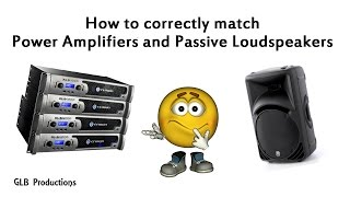Video How to correctly match power amplifiers and passive loudspeakers MP3, 3GP, MP4, WEBM, AVI, FLV Desember 2018