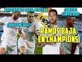 RAMOS BAJA EN CHAMPIONS | ASÍ VIO VINICIUS SU DEBUT | PREOCUPANTE DATO DE BENZEMA | LESIÓN BALE
