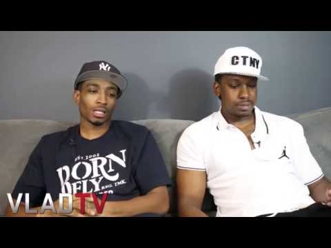 A.$.E. - http://www.vladtv.com - 40 Cal and Young A$e expressed their views on the growing acceptance of female attire being worn by males and homosexuality within the Hip Hop culture, in this clip...
