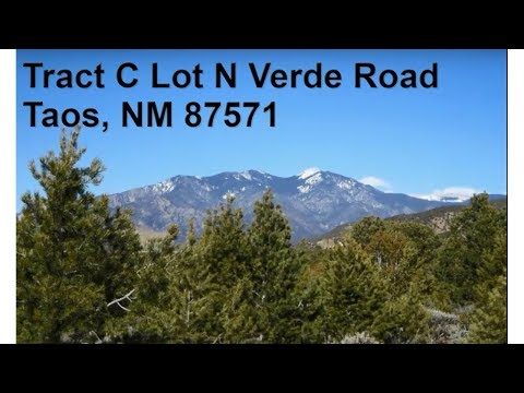 Tract C Lot N Verde Road, Taos NM 87571