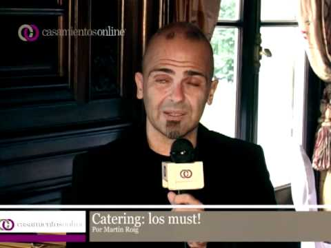 Los MUST en el Catering por Martin Roig!