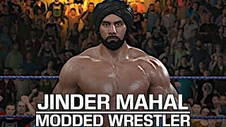 Don't hinder Jinder because I showcase the Modern Day Maharaja Jinder Mahal by JulianBITW! Show some love by leaving a like, sharing and subscribing for more awesome videos like these!OUTRO MUSIC: Undertaker's Rollin Theme Cover by JAYDEGARROWJAYDEGARROW's YouTube: https://www.youtube.com/channel/UCit4zHRRYaU5Og8ZHqvA7jQFOLLOW ME HERE:Facebook: https://www.facebook.com/julian.rosado.14Twitter: https://twitter.com/Jules1451Instagram: https://www.instagram.com/jules1451/Snapchat: @Jules1451Want to see more WWE 2K16 & WWE 2K17 Content? Visit this link for more! http://www.thesmackdownhotel.com
