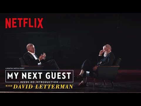 Obama On Taking 30 Minutes to Put Together a Lamp | My Next Guest Needs No Introduction | Netflix