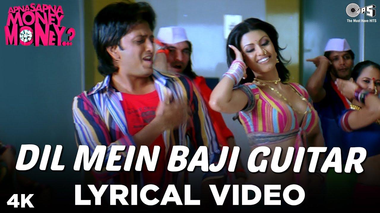 Dil Mein Baji Guitar Lyrical Video – Apna Sapna Money Money   Riteish Deshmukh & Koena Mitra