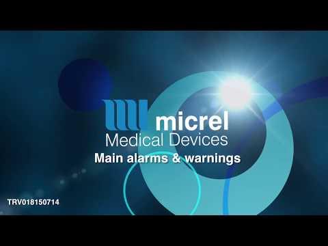 8 alarms and warning - Hướng dẫn sử dụng bơm tiêm giảm đau Rythmic Micrel
