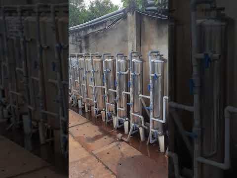 Thay lõi hệ thống lọc nước phèn tại ql22, cầu An Hạ, Củ Chi, tphcm.